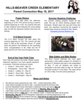 Parent Connection May 18