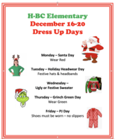 H-BC Elementary Parent Connection 12/13/2019