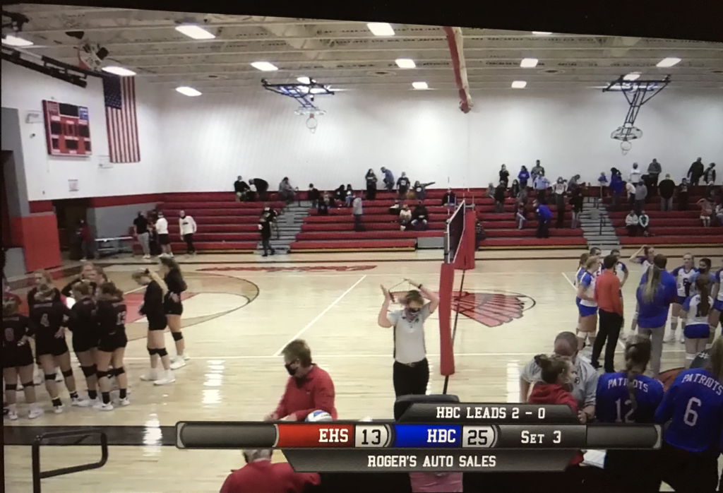 HBC Volleyball vs Edgerton
