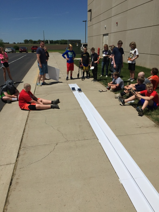 HBC 6th Graders Solar Cars 2018