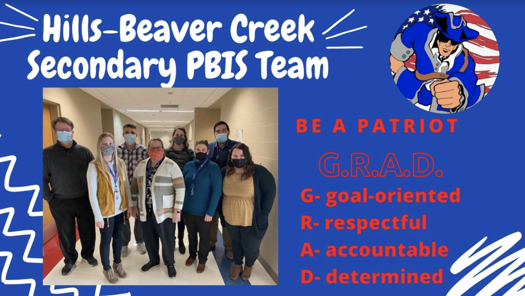 PBIS Secondary G.R.A.D. Team