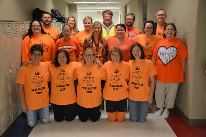 HBC Secondary Staff Color Day