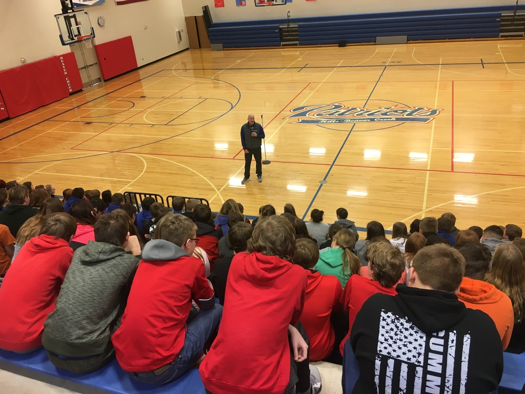 Tim Weidenbach with Higher Power Sports sharing a positive message.