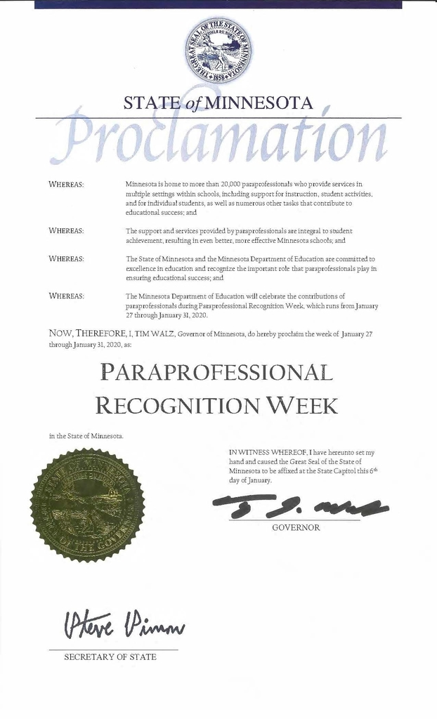 Para Recognition Week