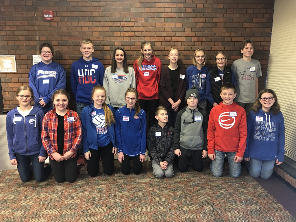 2020 Math Counts Team!